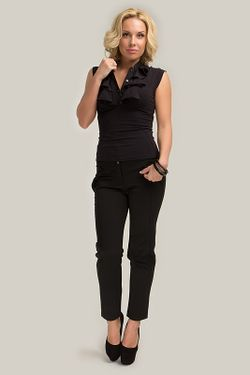 Блузка Gloss                                                                                                              черный цвет