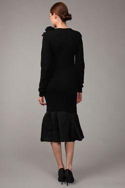 Платье Джерси Lanvin                                                                                                              чёрный цвет