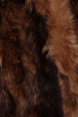 Полушубок Patrizia Pepe                                                                                                              коричневый цвет