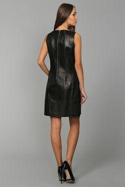 Платье Кожаное Michael Kors                                                                                                              чёрный цвет