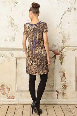 Платье Waggon Paris                                                                                                              многоцветный цвет