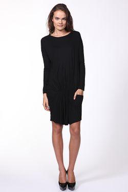 Платье Джерси Stella Mccartney                                                                                                              черный цвет