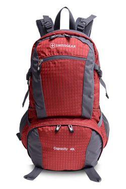 Рюкзак SwissGear                                                                                                              красный цвет