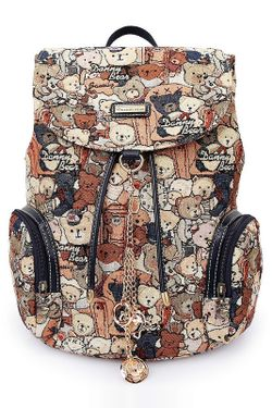 Рюкзак DANNY BEAR                                                                                                              коричневый цвет