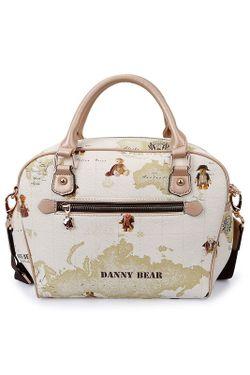 Сумка DANNY BEAR                                                                                                              белый цвет