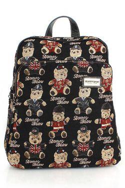 Рюкзак DANNY BEAR                                                                                                              чёрный цвет