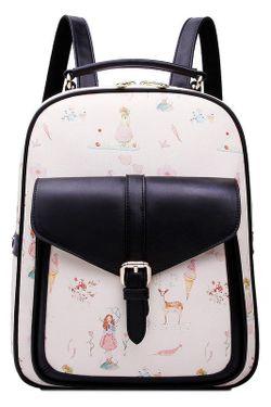 Рюкзак HOW.R.U                                                                                                              черный цвет