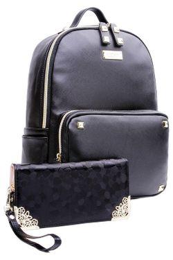 Рюкзак HOW.R.U                                                                                                              чёрный цвет