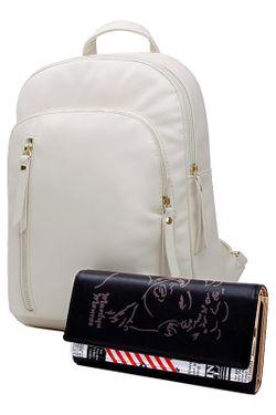 Рюкзак HOW.R.U                                                                                                              бежевый цвет