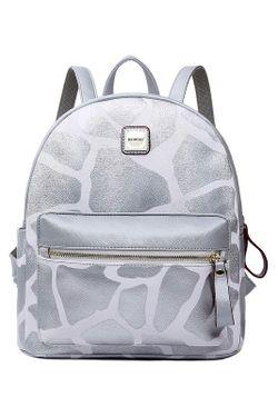Рюкзак HOW.R.U                                                                                                              Серебряный цвет