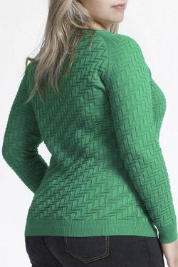Кофта QIANMAI                                                                                                              зелёный цвет