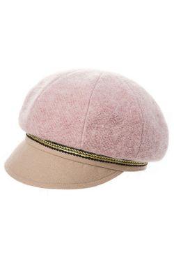 Кепка HATTERS'HUB                                                                                                              розовый цвет