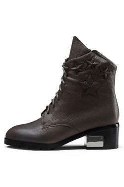 Ботинки O.E                                                                                                              коричневый цвет
