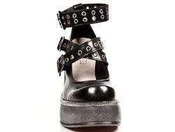 Туфли New Rock                                                                                                              чёрный цвет