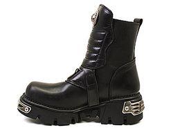 Ботинки Newrock                                                                                                              черный цвет