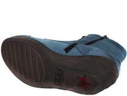 Полусапожки Женские CUBANAS                                                                                                              синий цвет