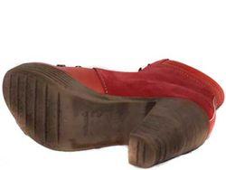 Полусапожки CUBANAS                                                                                                              красный цвет