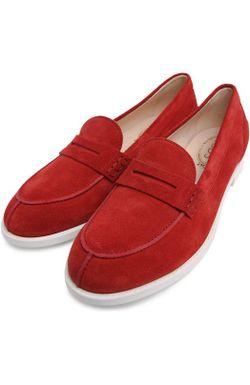Лоферы Gomma Vk Tods Tod'S                                                                                                              красный цвет