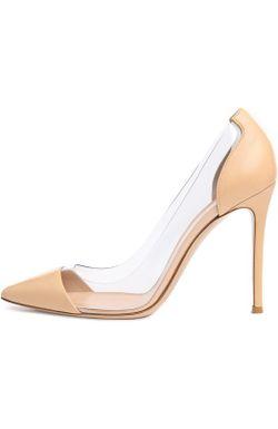 Туфли Plexy Gianvito Rossi                                                                                                              белый цвет