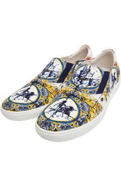 Кеды New Q Dolce & Gabbana                                                                                                              многоцветный цвет