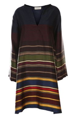 Платье Dries Van Noten                                                                                                              многоцветный цвет