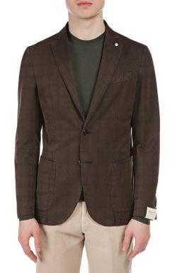 Пиджак L.B.M. 1911                                                                                                              коричневый цвет