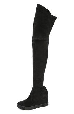 Ботфорты Casadei                                                                                                              черный цвет
