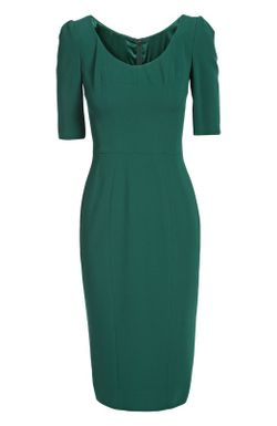 Платье Dolcegabbana Dolce & Gabbana                                                                                                              зелёный цвет
