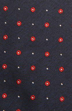 Галстук Kiton                                                                                                              синий цвет