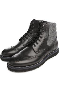 Ботинки W.Gibbs                                                                                                              чёрный цвет