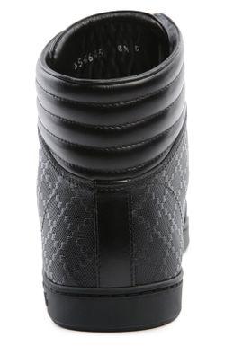 Кеды Gucci                                                                                                              черный цвет