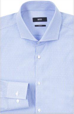 Сорочка Hugo Boss Black Label                                                                                                              синий цвет