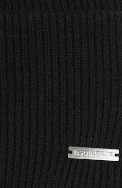 Шапка Вязаная Dsquared2                                                                                                              чёрный цвет