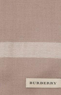 Шарф Burberry                                                                                                              серый цвет