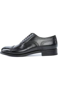 Туфли Santoni                                                                                                              чёрный цвет