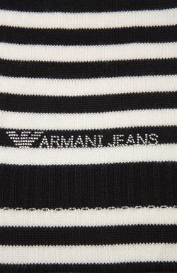 Вязанны Шарф ARMANI JEANS                                                                                                              серый цвет