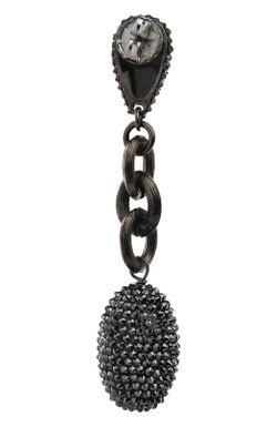 Серьги Roni Blanshay                                                                                                              черный цвет