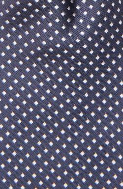 Галстук Hugo Boss Black Label                                                                                                              синий цвет
