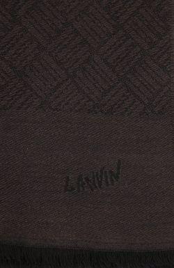 Шарф Lanvin                                                                                                              коричневый цвет