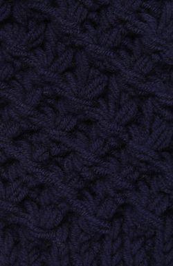 Варежки 7II                                                                                                              синий цвет