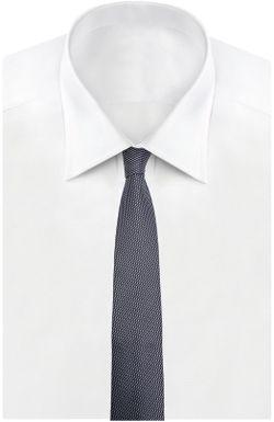Галстук HUGO BOSS Tailored                                                                                                              синий цвет