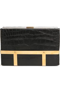 Сумка Cage Case Alexander McQueen                                                                                                              чёрный цвет