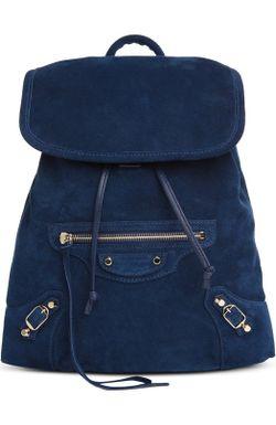 Рюкзак С Зеркалом Balenciaga                                                                                                              синий цвет