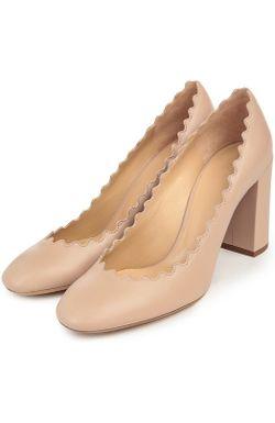 Туфли Chloé Chloe                                                                                                              бежевый цвет