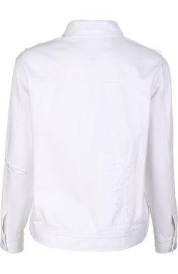 Джинсовая Куртка Steve J & Yoni P                                                                                                              белый цвет