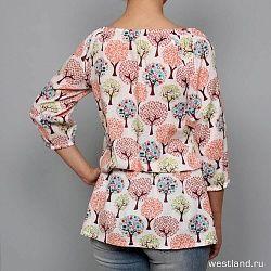 Блузка Женская Ls Westland                                                                                                              красный цвет