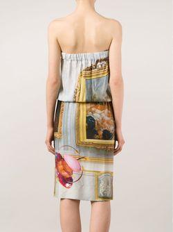 Платье С Цветочным Принтом Box Vivienne Westwood                                                                                                              зелёный цвет