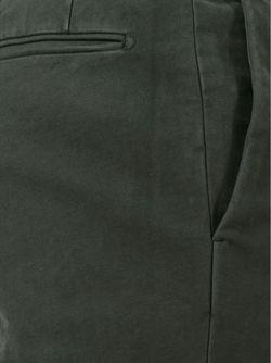Чиносы Кроя Слим Incotex                                                                                                              серый цвет