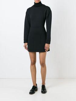 Платье-Толстовка DKNY                                                                                                              черный цвет