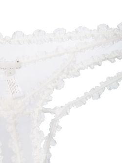 Кружевные Трусики Fleur du Mal                                                                                                              белый цвет
